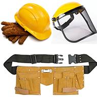 Apsaugos priemonės ir darbo rūbai