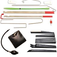 Avarinio atidarymo įrankiai
