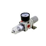 Oro srauto reguliatorius su  drėgmės filtru 1/4'', 550l/min (AW2000-02)