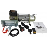 Akumuliatorinė traukimo gervė 13000 lbs/12V /plieninis lynas/ (M80812)