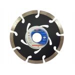 Deimantinis diskas 125x22.2x7 mm SEG. (juodas) (M08732)