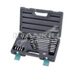 Terkšlinių raktų komplektas 12vnt. 8-19mm HONIDRIVER (H5-0012GHCW)