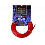Pjovimo valas 2.4mm*10m PENKIU KAMPU(raudonas) (M830801)