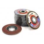 Šlifavimo diskas lapelinis išgaubtos formos 125mm P80, m-p (M07976B)