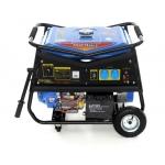 Benzininis vienfazis generatorius 5000W 2X 230V/12V vienfazis (KD145)