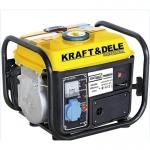 Benzininis vienfazis generatorius be ratukų 1200W 12/230V (KD109Z)