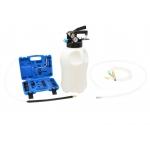 Tepalo užpylimo ir išsiurbimo įrenginys su ATF adapteriais, pneumatinis, 10L (G02117)