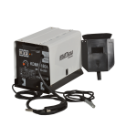 Suvirinimo pusautomatis MIG/MAG/FLUX KDMI-180A (KD826)